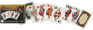 Rococo Spielkarten