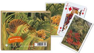 Rousseau - Tiger Spielkarten