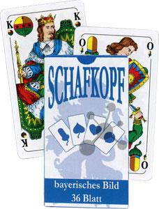 Tarock Schafkopf - Bayrisches Blatt in der Faltschachtel