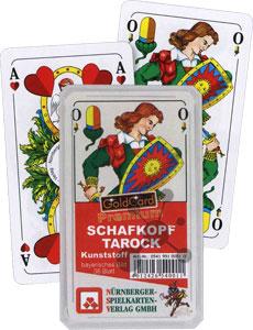 Tarock Schafkopf Premium Kunststoff - Bayrisches Blatt