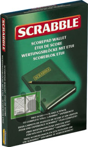 Scrabble - Wertungsbuch