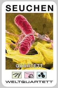 Seuchen Quartett (mit COVID-19 Karte)