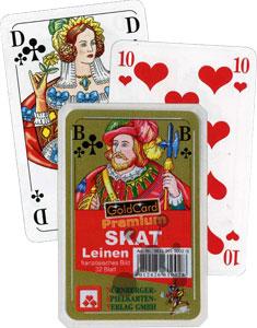 Skat - Premium Leinen