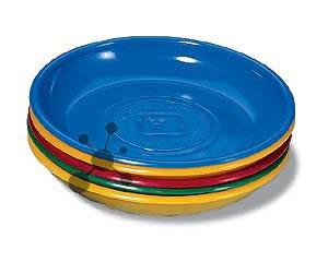 Spielgeldteller Kunststoff, farbig sortiert (4 Teller)