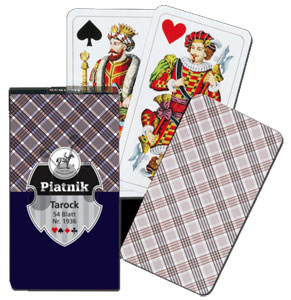 Tarock Karo Spielkarten