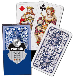 Tarock Ornament Spielkarten