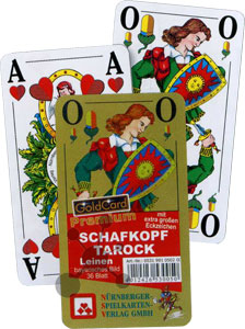 Tarock Schafkopf Premium - Bayrisches Blatt - Senioren