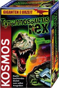 Tyrannosaurus Rex - Ausgrabung nachtleuchtend