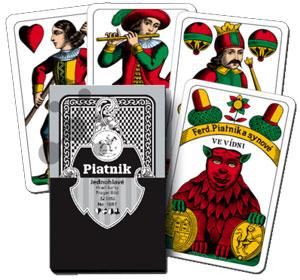 Tschechische Spielkarten Jednohlave