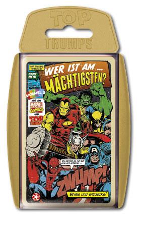 TOP TRUMPS - Marvel Comics