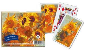 Vincent Van Gogh - Sunflowers Spielkarten