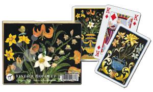 Vintage Bouquet Spielkarten