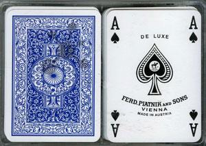 Vollplastik Poker Spielkarten