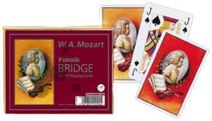 W.A. Mozart Spielkarten