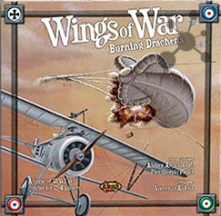 Wings of War I - Burning Drachens