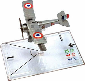 Wings of War Miniatures I - Nieuport 17 - Lufbery und Thenault