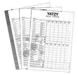 Yatzy Extra Classic Spielblock 10er