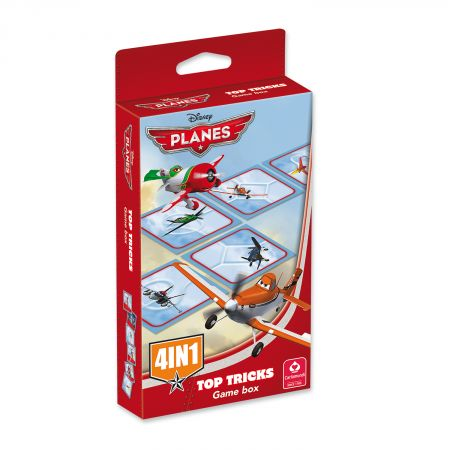 Disney Planes Domino-Spielbox