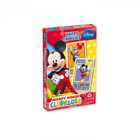 Disney Mickey Mouse Club House – Quartett